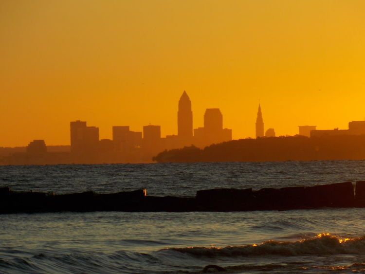 Miles Away Cleveland Cleveland Skyline No People Clevelandohio