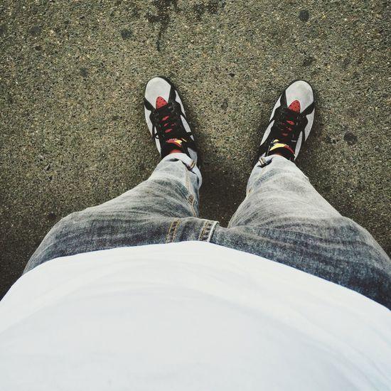 J's On My Feet Sneakersaddict Sneakerhead  près pour aller au boulot