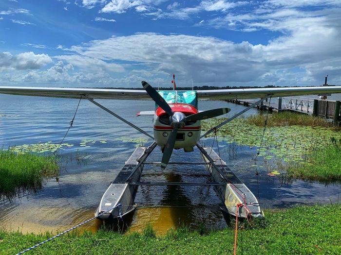 Seaplane parked