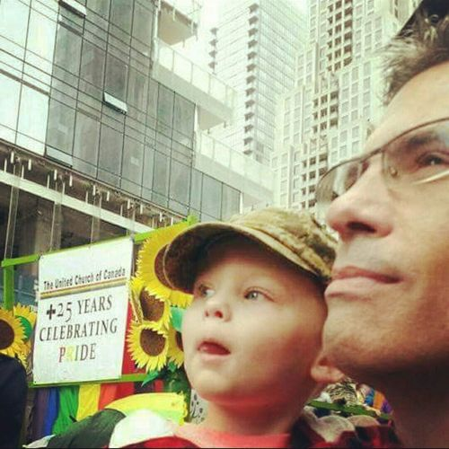Capturing Freedom My grandson and I at my first Pride Parade as an Out Gay man. He won't know a world of hate... No matter his sexuality. Edwardlove Torontopride Prideparade2015 Toronto Grandson Lgbt Lgbtq Lgbt Pride LGBT Rainbows Freedom to be who you are is one of the most important. When you don't have it for decades, you know this to be true.