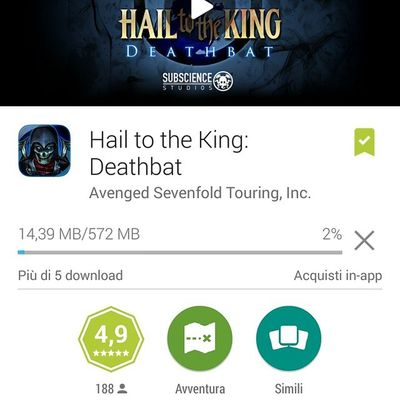 Finalmente! A7x HTTK Deathbat Mobile Gaming Fanboy