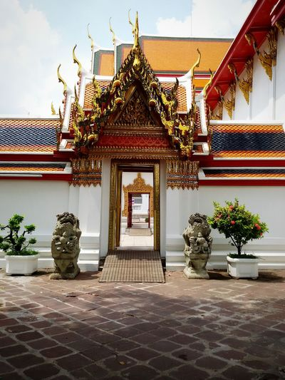 Exterior of wat pho