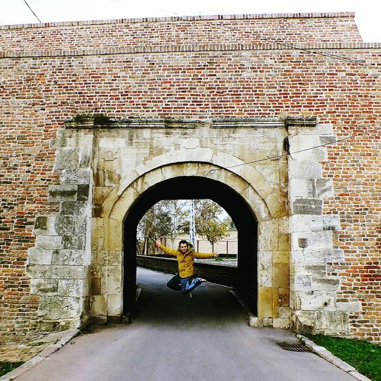 Belgrade,Serbia Kalemegdan  Pull&bear Winteriscoming Arch Architecture Built Structure Outdoors Day No People First Eyeem Photo