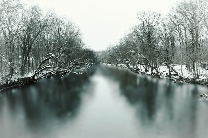 Swatara creek in winter Landscapes With WhiteWall Creek Winter Snow Cold Landscape Landscape_photography Swatara På Pennsylvania Nikon The Great Outdoors With Adobe