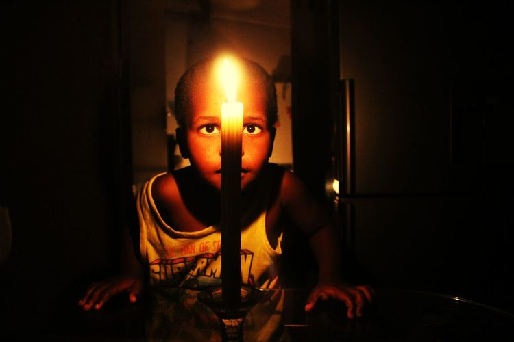 lulo Child Childhood Portrait Looking At Camera Heat - Temperature Burning Flame Front View Lit Candlelight Fire - Natural Phenomenon A New Perspective On Life Capture Tomorrow