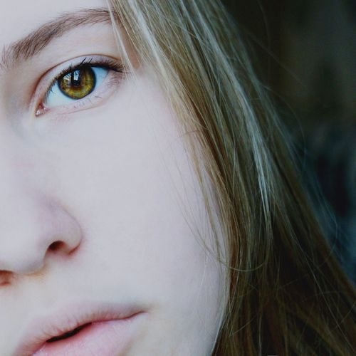 People Human Face Close-up Young Adult Young Women One Young Woman Only Human Eye Day Only Women