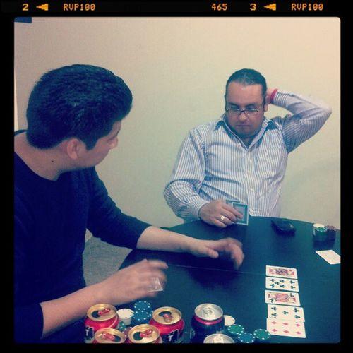 Fichando! Again con @wartuss Alejandro Velasco & Tletl