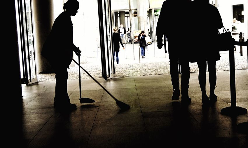 People Watching Working Hard Cleaning Up The City Lisbon Scenery Shots Light And Shadow The Real Heroes From My Point Of View The Street Photographer -2016 EyeEm Awards