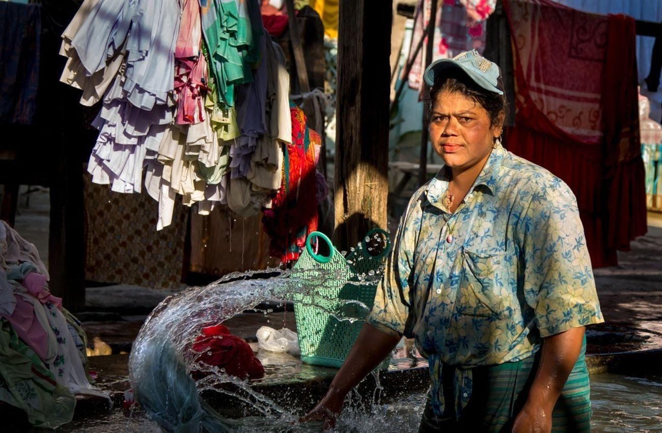 Washer woman...