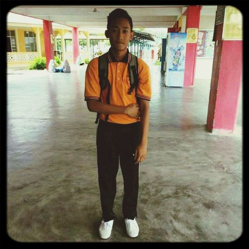 At school.. Trowback