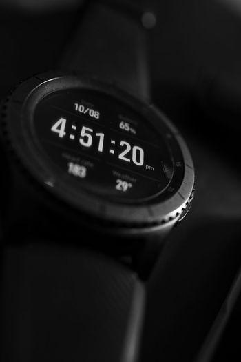 Digital modern smartwatch