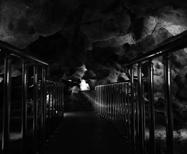 Stalactite & Stone Caves Astim Caves Calcium Calcium Deposits Caves Dark Historical Sights Mersin Path Railing Stairs Stalactite  Turkey Underground Underground Walkway Winding Path Winding Stairs