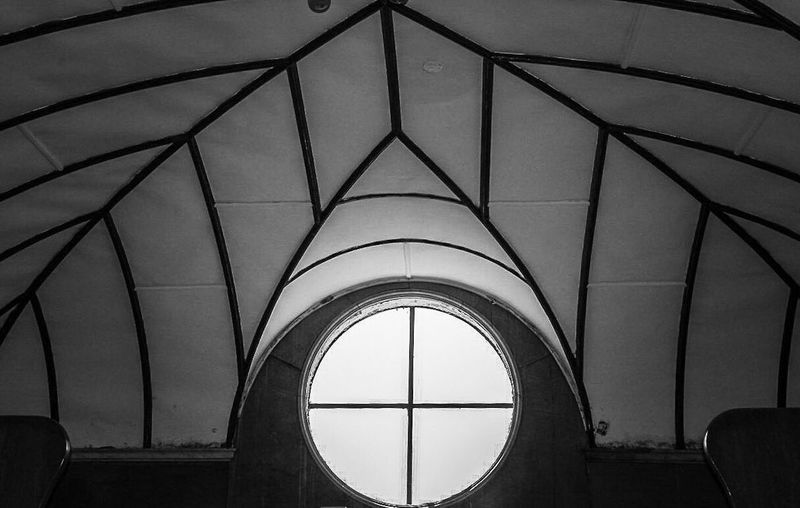 Arch Architecture Ceiling Repetition Architectural Feature Full Frame Geometric Shape Architectural Design No People Lightner Museum Saint Augustine Oldest City In America Gilded Age