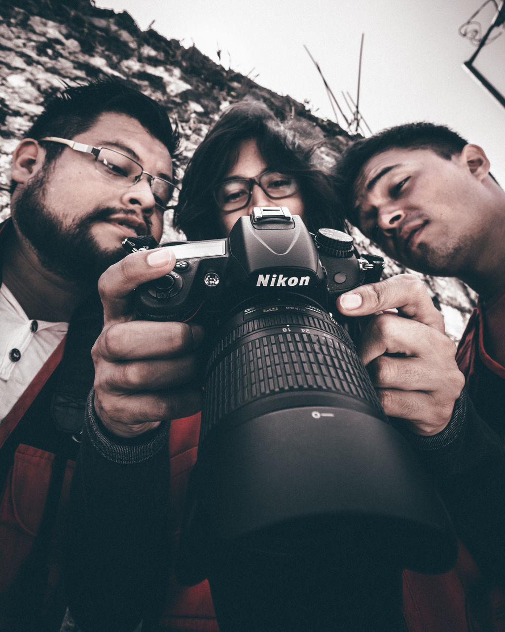 real people, togetherness, young men, men, selfie, photographing, photography themes, outdoors, day, young adult, adult, adults only, people