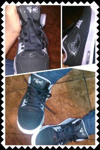 my new kicks that I got today