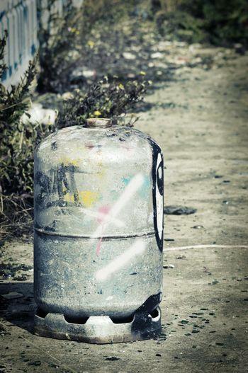 Streetart/graffiti Streetphotography Urbexphotography Urbanphotography Myworld Lovephotography  Nikon D3200 Gaz Bottle