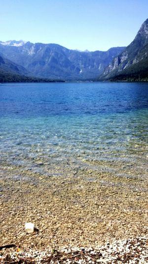 Water Blue Lake View Bohinj, Slovenia Bohinjsko Jezero Slovenia ❤ Beautiful Nature IfeelsLOVEnia Clearwater