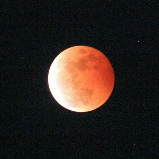 Red Moon in Gorontalo, Oct 8, 2014 Nature Redmoon Lunar Eclipse Nightsky