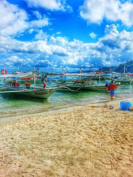 El Nido Port RePicture Travel Palawan Island Life Sea View Seascape Phonetography Philippines Sea Sea And Sky Island