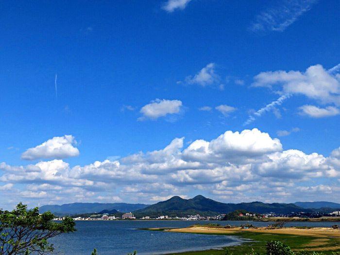 Sea Sea And Sky Seascape Mountain Mycity MyCity❤️ Fukuoka Fukuoka,Japan Fukuoka-shi Fukuoka City