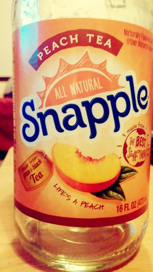 Snapple gets me through life Snapple Check This Out Taking Photos That's Me Relaxing Enjoying Life Hi! Hanging Out Hello World