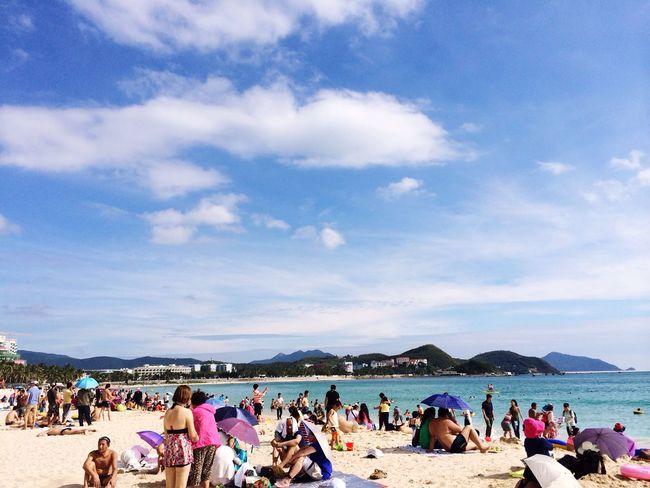 Today's Photos Everyday Lives Island Haynan Being A Beach Bum Beach Sea Sunny Beautiful View