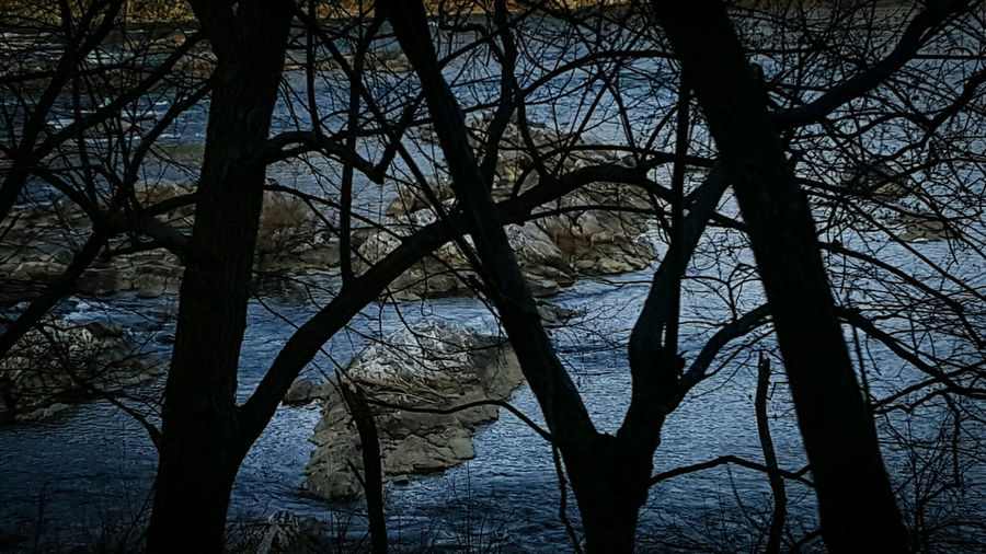 From My Point Of View Through My Windshield Darkness And Light Adventure Water Potomac River Out In The Wilderness Travelling Photography
