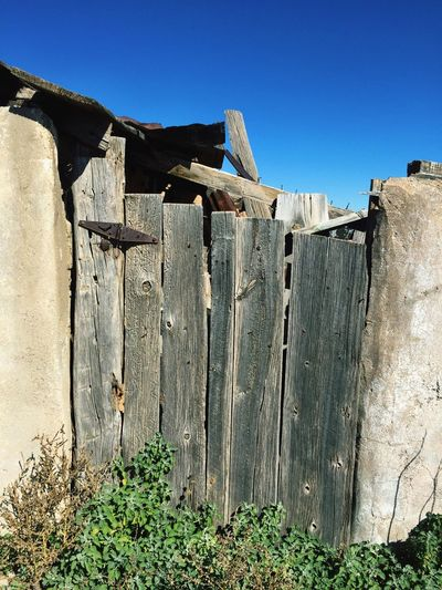 """Forgotten Entry"" A long abandoned gate into a long forgotten storage area of an old building in Central New Mexico. Rural Decay Ruraldecay Abandoned Abandoned Places Abandonedbuilding Gates Old Gate Old Buildings Overgrown RuralTreasures"
