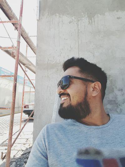 Sonriendo Beardman Beardedmen Bearded Beardedguy Beard Beardporn Beardlove Smiling Smile
