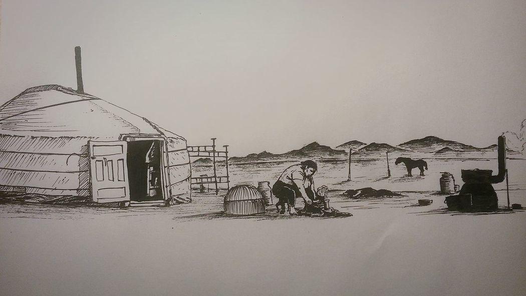 This Is PAINT Бурятия монголия Ulan-Ude Mongolia Art Sketch Drawing