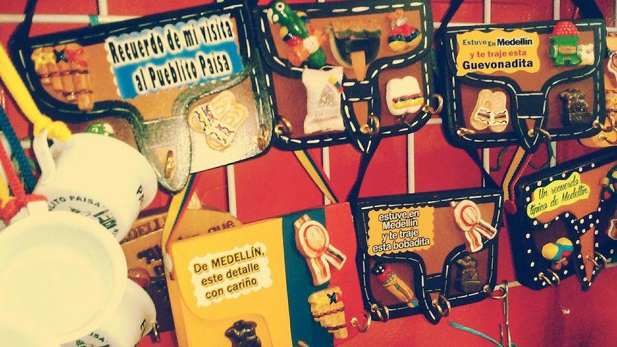 Medellin City Pueblito Paisa, Souvenirs/Gift Shop carrieles :3