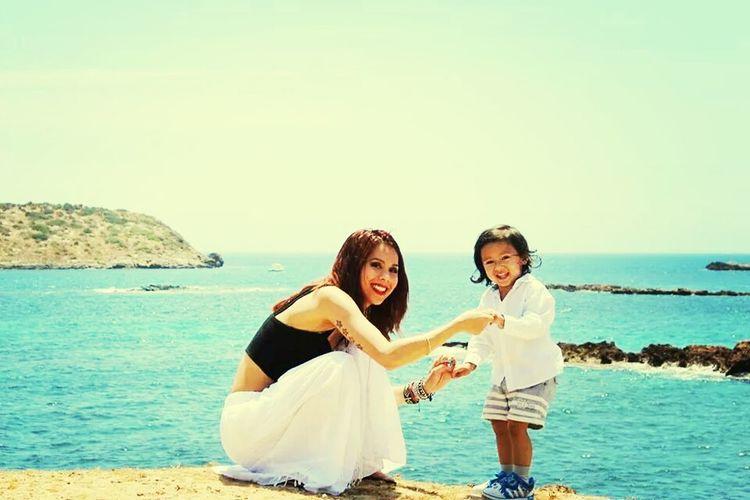 Mother Son Love Ibiza Holiday Belong Anywhere