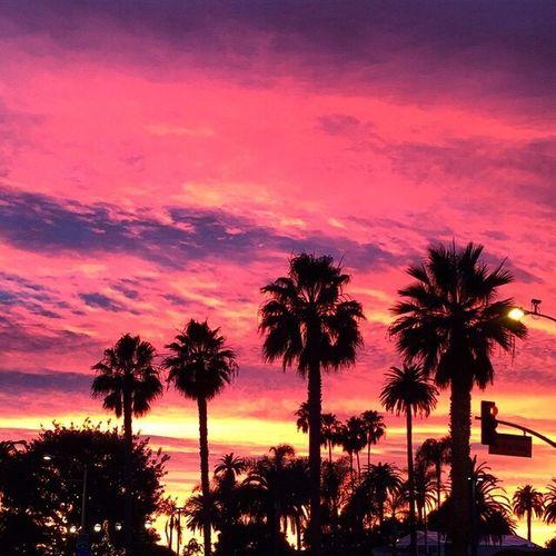 Sunset Winter Solstice California