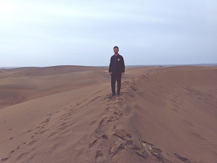A Man In Desert Thar Desert Rajasthan Eyem Best Shots EyeEm Nature Lover Nature Politics And Government Technology Sunglasses Arid Landscape Arid Climate Extreme Terrain Surfer
