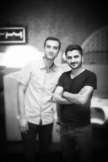 My Freinds Black & White Tbilisi Friend