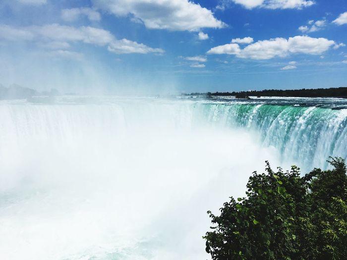 Niagara Falls on the Canadian side Niagara Falls HorshoeFalls First Eyeem Photo
