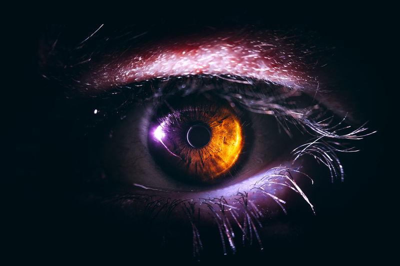 20170304 - Eye My eye. Black Background Close-up Eye Eyeball Eyelash Eyesight Human Body Part Human Eye Iris - Eye Macro Macro Beauty Macro Photography Macro_collection Macrophotography Night One Person People Sensory Perception Surreal Surrealism Surrealist Art