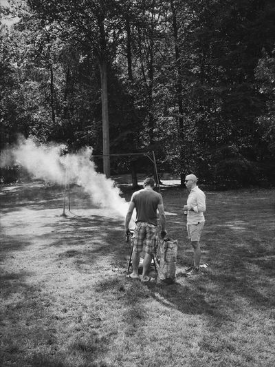 Blackandwhite Nature Outdoors Togetherness Portrait Leisure Activity Barbeque Black And White Real Photography Monochrome Photography