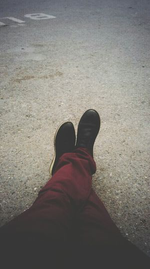 Relaxing Hello World Shoes Red