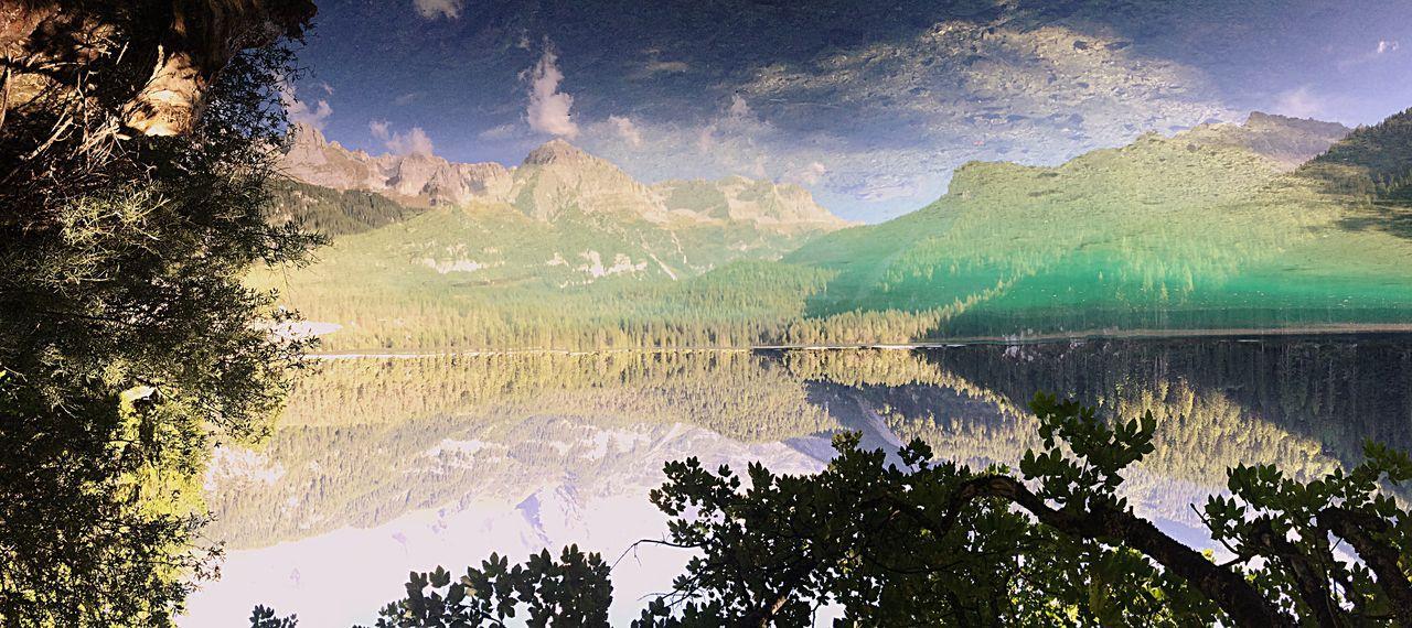 Il Riflesso del Lago (foto messa al contrario) First Eyeem Photo