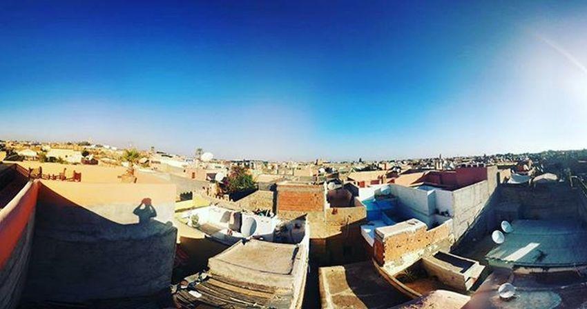 Morroco Morning Honeymoon Happyfamily Instagood Instalike Marrakech Marrocco View Sky City
