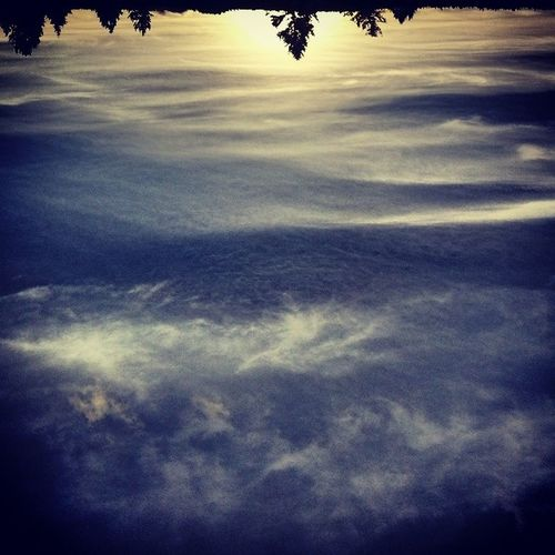 If the sky had