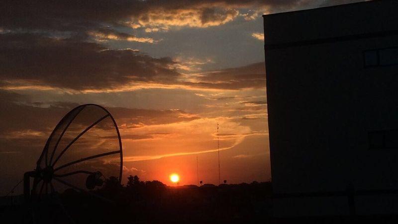 The sun 🌞 Sunset