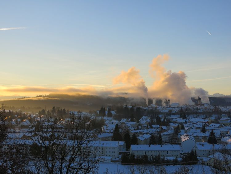 My Hometown Sunrise... Sunrise_Collection Onmywaytowork Wintertime Getting Inspired Light And Shadow
