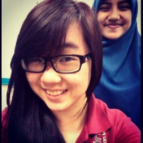 Back when I had mild red hair and I miss this crazy woman @syera_rahghni :) BalingbalikThursday