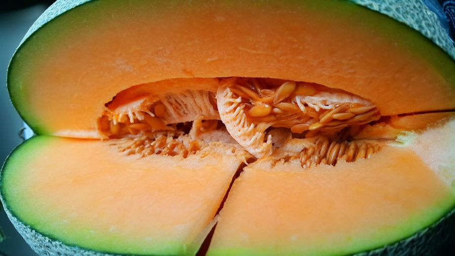 Cutting Melon Healthy Eating Ready-to-eat Freshness Melonjuice Melon Seeds Melon Agushariantophotography