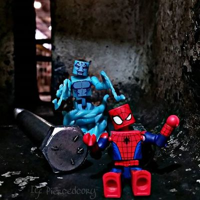 Not sure is I'm hungry or my spider sense is tingling......I could go for a slice I guess. Fwebruary day 11 Realworldtoys