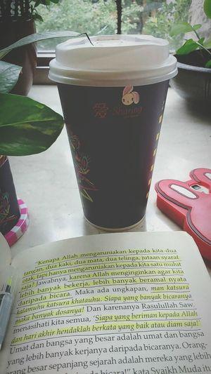Reminder For Myself Coffee Time Gloomy Morning Text Drink Indoors  No People Enjoying Life Blessing Alhamdulillah AllahuAkbar