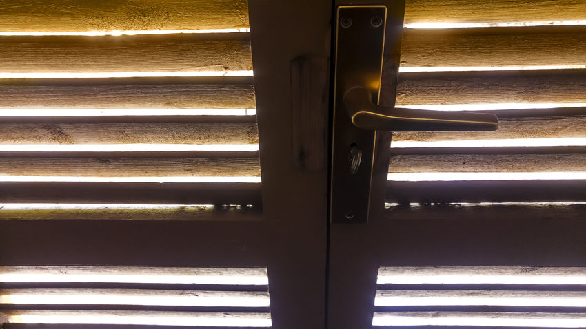Doors Light Shadows & Lights Blinds Close-up Corrugated Iron Day Door Indoors  Metal Mystery No People Pattern Window