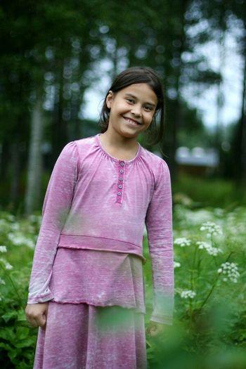 My brothers daughter in Sweden, LuleåLuleå  Relative Portrait Girl Summertime Summer2014 Peoplephotography People Color Portrait Enjoying Life